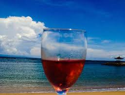 summer fun and sippin rose