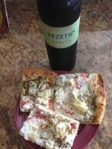 pizza with Erzetic