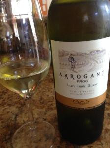 Arrogan Frog Sauv Blanc2