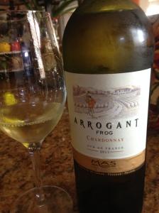 Arrogant Frog Chardonnay (2)