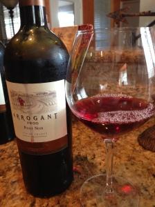 Arrogant Frog Pinot2