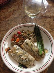 Boccalino with fish
