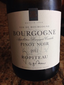 Ropiteau Bourgogne 011 Pinot Noir