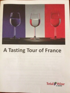 A Tasting tour of France