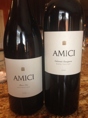 Amici Pinot and Cab
