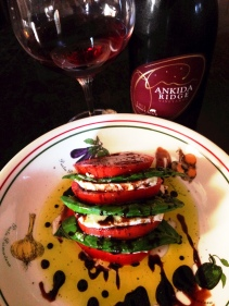 Ankida Ridge with Caprese Saldad