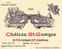 Chateau St Georges label