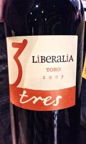 Liberalia Toro Tres Spain