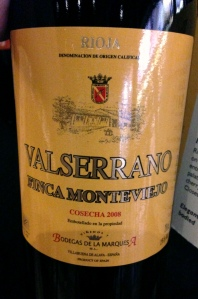 Valserrano Rioja Monteviejo Spain