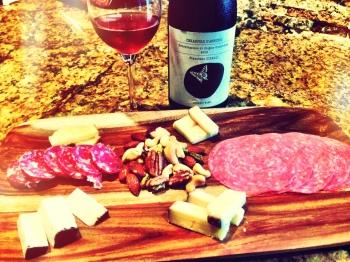 Cerasulolo D'Abruzzo appetizers