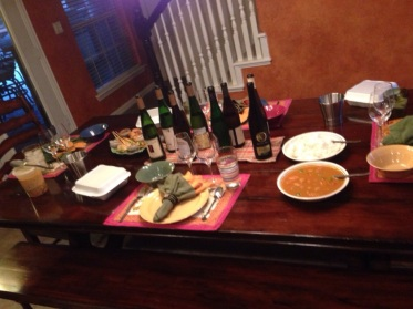 Finger Lakes Riesling Thai Dinner