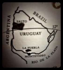 H Sagnari Uruguay map
