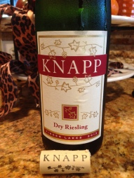 Knapp Winery Riesling