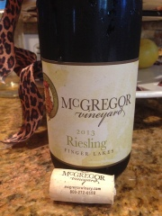 McGregor Vineyard Riesling