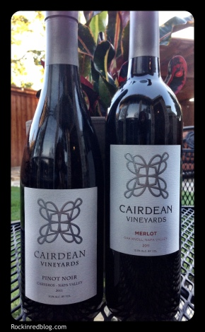 Cairdean Merlot and Pinot Noir