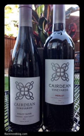 Cairdean Merlot and Pinot Noir