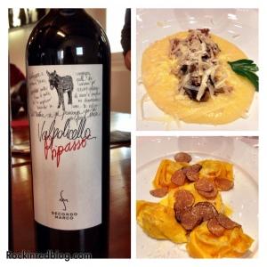 dinner in Valpolicella