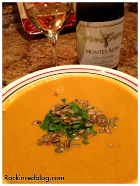 Montes Chardonnay dinner