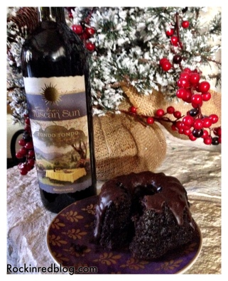Tuscan Sun with Choc bundt cake