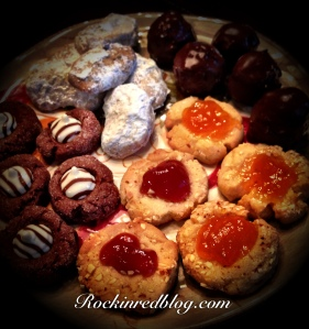 Winter Solstice cookies