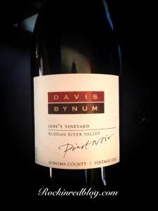 Davis Bynum Janes Vineyard Pinot Noir 2012