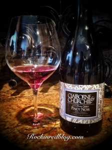 Claiborne and Churchill Twin Creek Pinot Noir