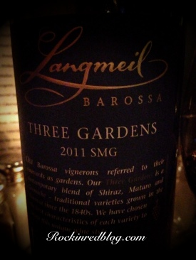 Langmeil Three Gardens 2011 SMG