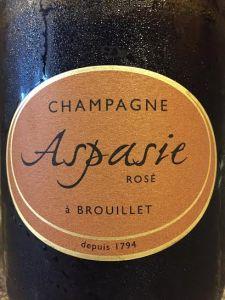 Aspasie Rose Champagne