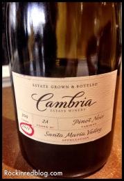Cambria 2011 Clone 2A Pinot