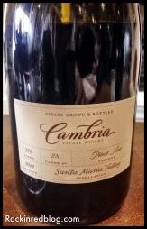 Cambria 2012 Clone 2A Pinot