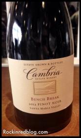 Cambria Bench Break Pinot Noir