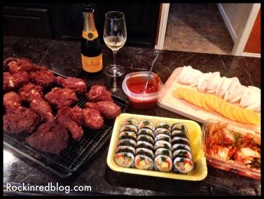Korean Fried Chick dinner2
