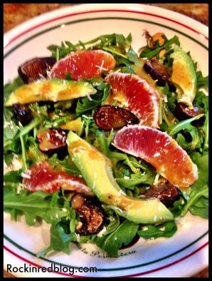 Sicilian dinner salad