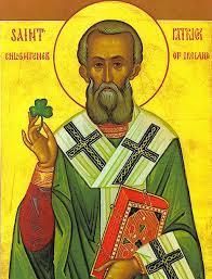 St Patrick Icon