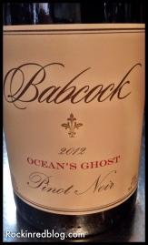 Babcock Oceans Ghost Pinot Noir