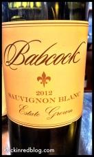 Babcock Sauv Blanc