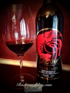 Breaux vineyards Meritage 2007