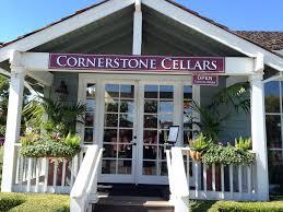 Cornerstone Cellars tasting room