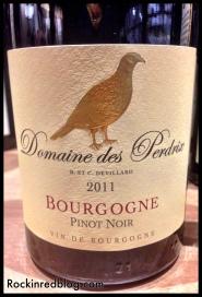 Domaine des Perdrix 2011 Bourgogne