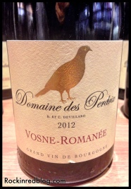 Domaine des Perdrix 2012 Vosne-Romanee