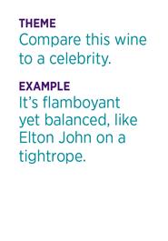 Read Between the Wines example
