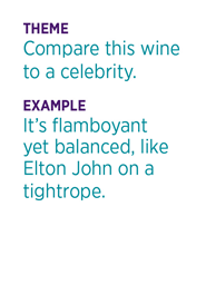 Read Between the Wines example