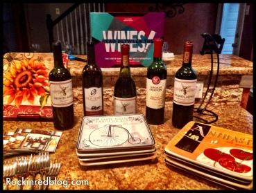 Read Between the Wines pregame wines