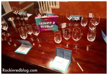 Read Between the Wines set up