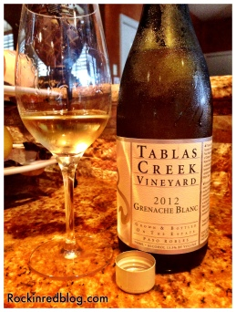 Tablas Creek 2012 Grenache2