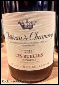 TW Chateau de Chamirey 2011 Les Ruelles