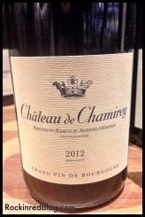 TW Chateau de Chamirey 2014