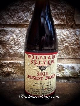 Williams Selyem 2011 Pinot Noir2