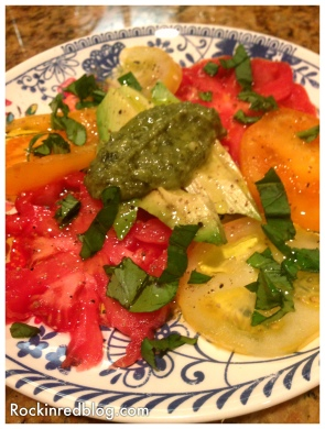 Williams Selyem tomato salad