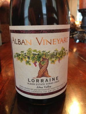 Alban Vineyards 2005 Lorraine Syrah